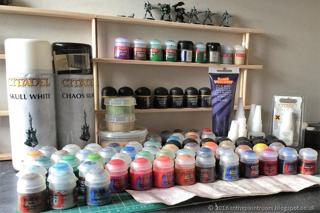 Carbooty! Layers, base, shades, spray and technical paints all for £50!