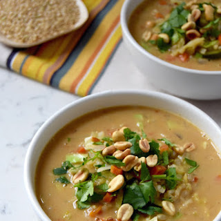 African Peanut and Vegetable Soup.