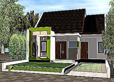 desain rumah gallery taman minimalis