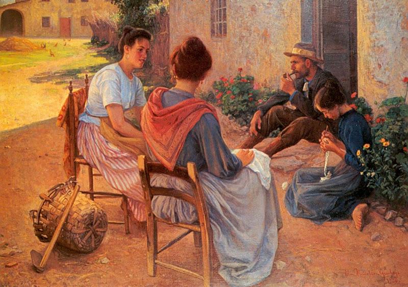 Elin Danielson-Gambogi - Italialainen perhe