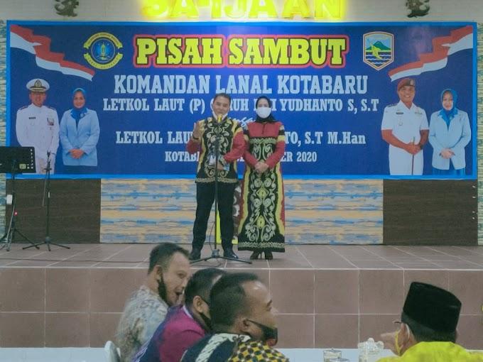 Pergantian Danlanal Kotabaru, Yang Lama ke Mabes TNI AL