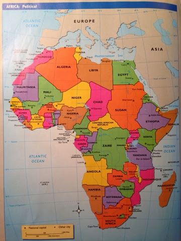 Map of Africa Song - YouTube