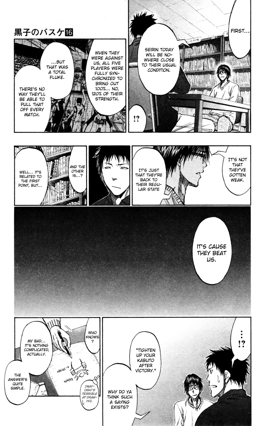 Kuroko no Basket Manga Chapter 143 - Image 07