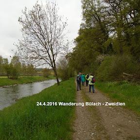 Wanderung Bülach - Zweidlen