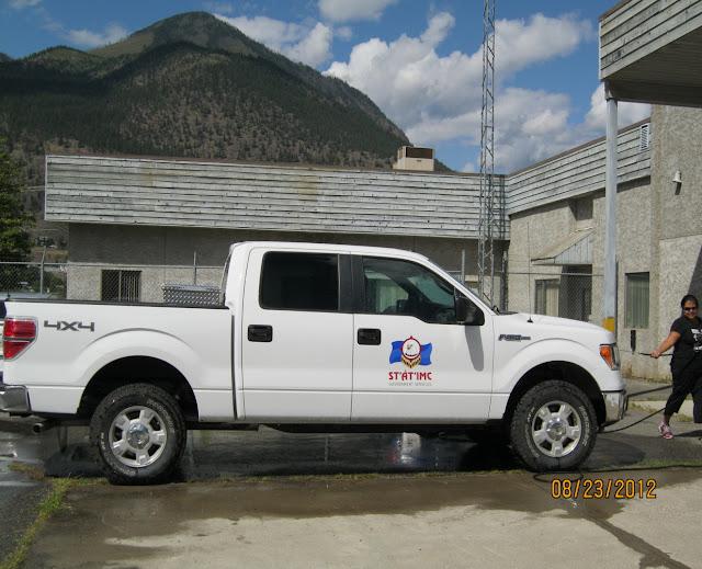 St'át'imc Government Services Heritage Crew Truck