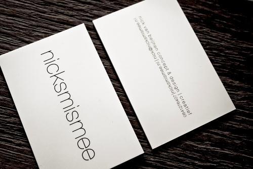 nicksmismee Business Cards