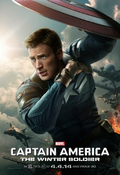 Poster Of Captain America: The Winter Soldier (2014) Full Movie Hindi Dubbed Free Download Watch Online At Alldownloads4u.Com