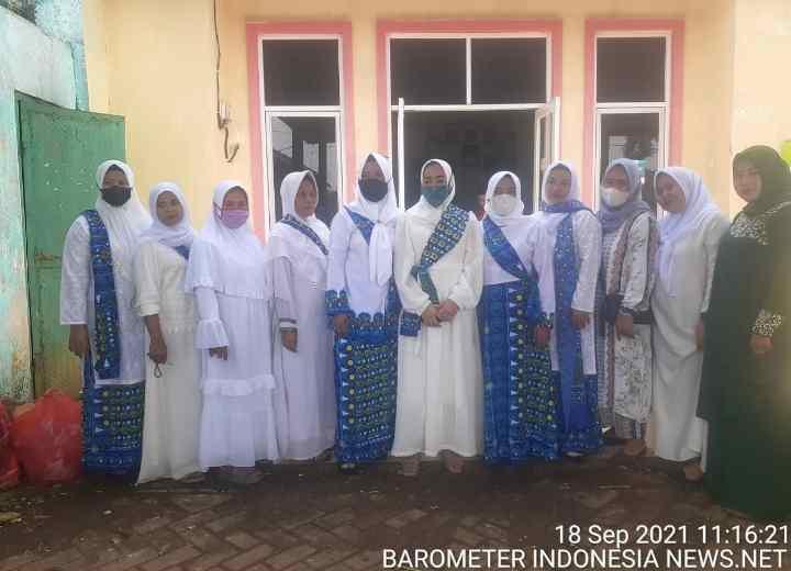 Pengajian Rutin Bulanan Ibu-Ibu Hari Ini di Adakan di Kantor Desa Jagabita Kecamatan Parungpanjang..