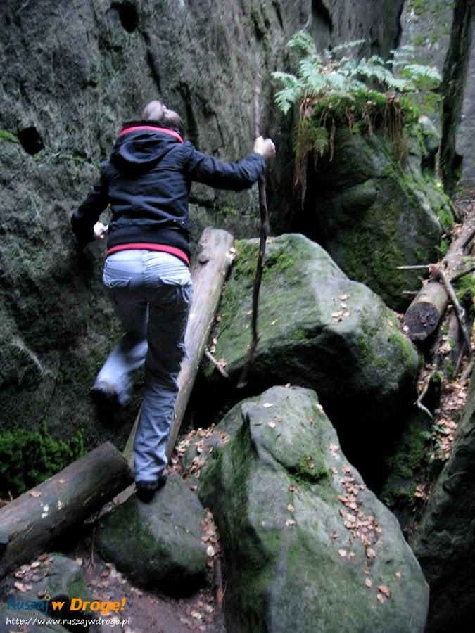 trasa przez błędne skały