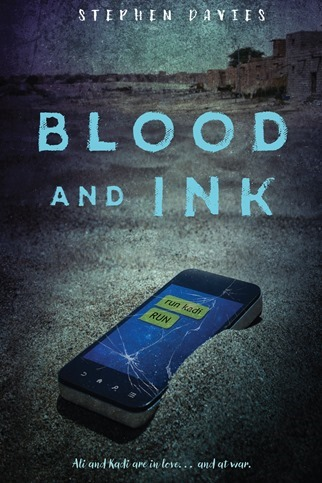 Blood & Ink - Stephen Davis - US Cover
