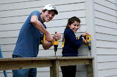 Jason & Elisa...they finished this deck!