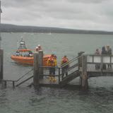 18 September 2011 - the 2 crew members await pickup by the ILB