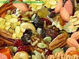 Nuts and seeds are concentrated sources of vitamin E, potassium, magnesium, iron, zinc, copper,and antioxidants.