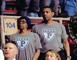 UPenn graduation and Denzel Washington