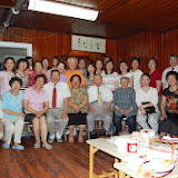 Cell group group photo. 2008-07-26 小组聚会合影