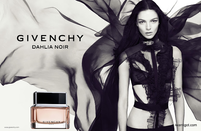 Givenchy Dahlia Noir Ad Campaign