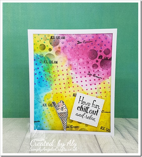 using Creative Stamping issue 59