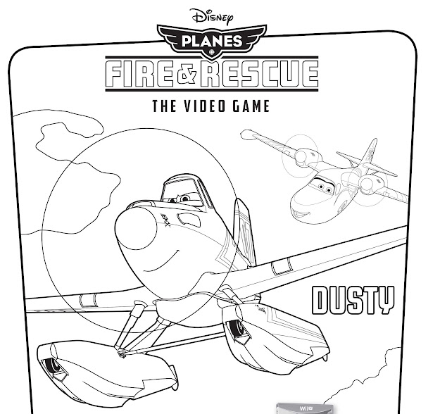 Disneys Planes Fire  Rescue Video Game Coloring Pages