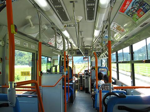 JR東日本「気仙沼線BRT」 2221 車内 その2