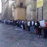 Manifestación en Córdoba por los ataques israelíes a Gaza (enero de 2009)