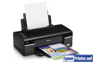 How to reset Epson WorkForce 40 printer