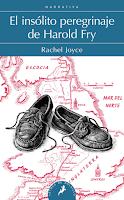 El insólito peregrinaje de Harold Fry de Rachel Joyce, ficción de género, ficción literaria, mujeres, chick lit, novela