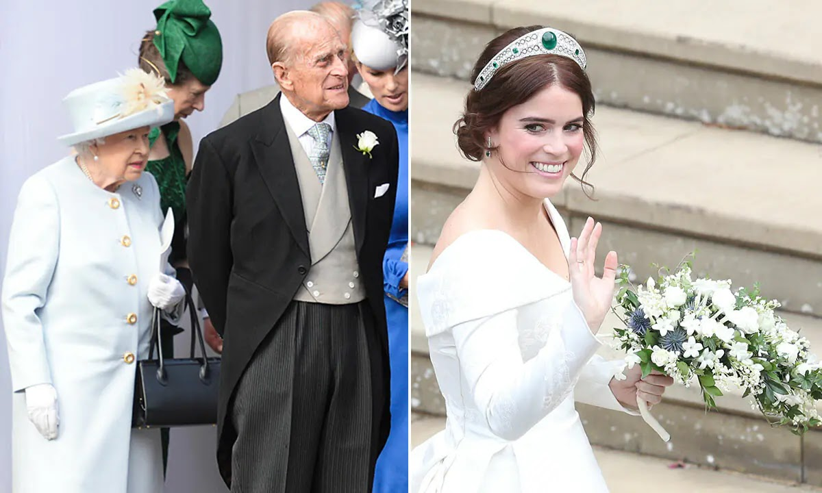 Princess Eugenie reveals touching Wedding Gift from Prince Philip
