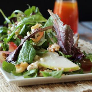 Pear Walnut and Gorgonzola Salad.