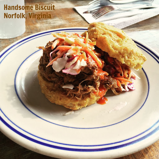 Handsome Biscuit. From 5 Family-Friendly Places to Eat in Norfolk, Virginia