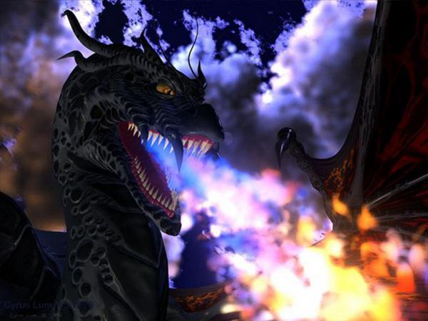 Drangon Strong, Dragons