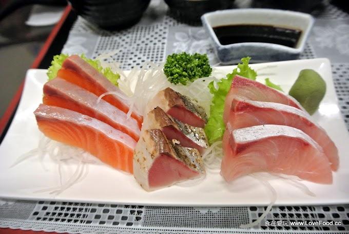 苗栗頭份【吃飯學苑】生魚片、薑汁燒肉、薑麻雞