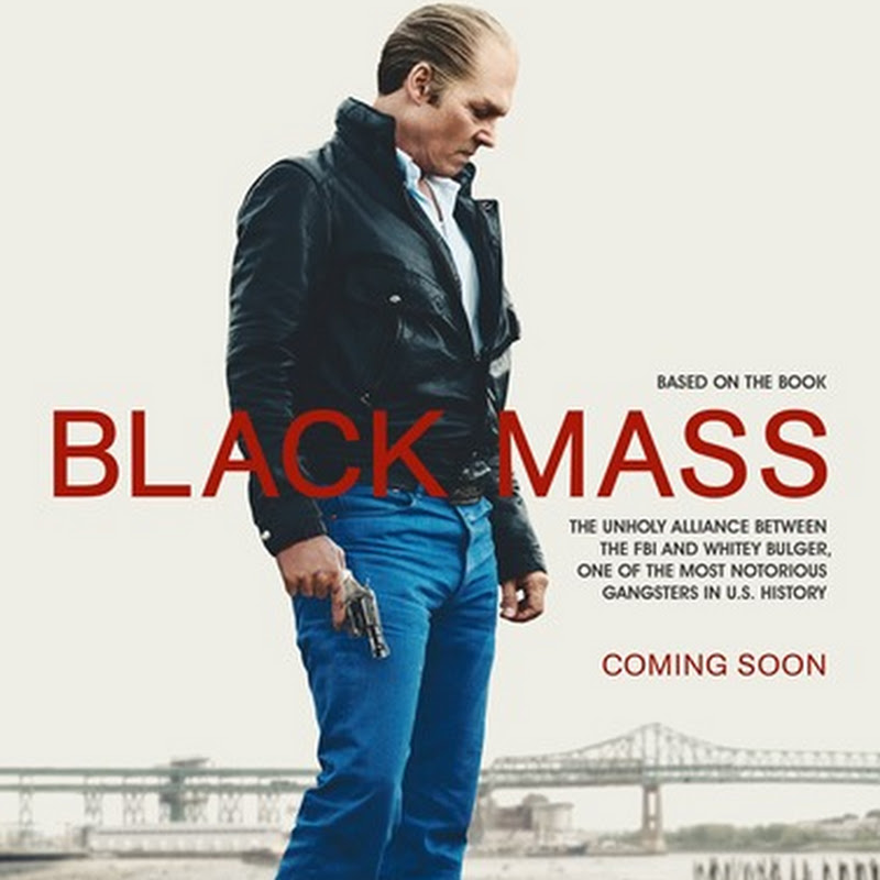 "Depp Guns Down Enemy in New ""Black Mass"" Poster"