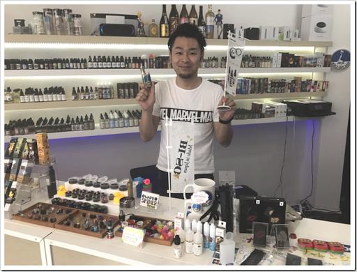 IMG 4623 thumb - 【ショップ訪問】World Vape Shop Japanにお邪魔してきた!イケボ店長と美しすぎるショップ店員の織りなすVAPE天国はここにあった!?日本では珍しいリキッドからスターター、ビルド自由で初心者から上級者までついつい長居してしまう錦糸町のオアシス!【楽しかった】