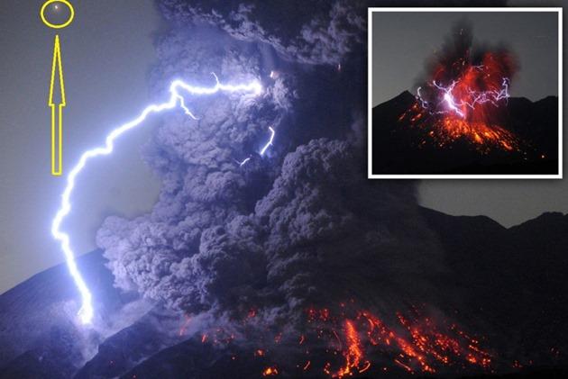 A razão pela qual há tantas observações de ovnis perto de vulcões em erupção