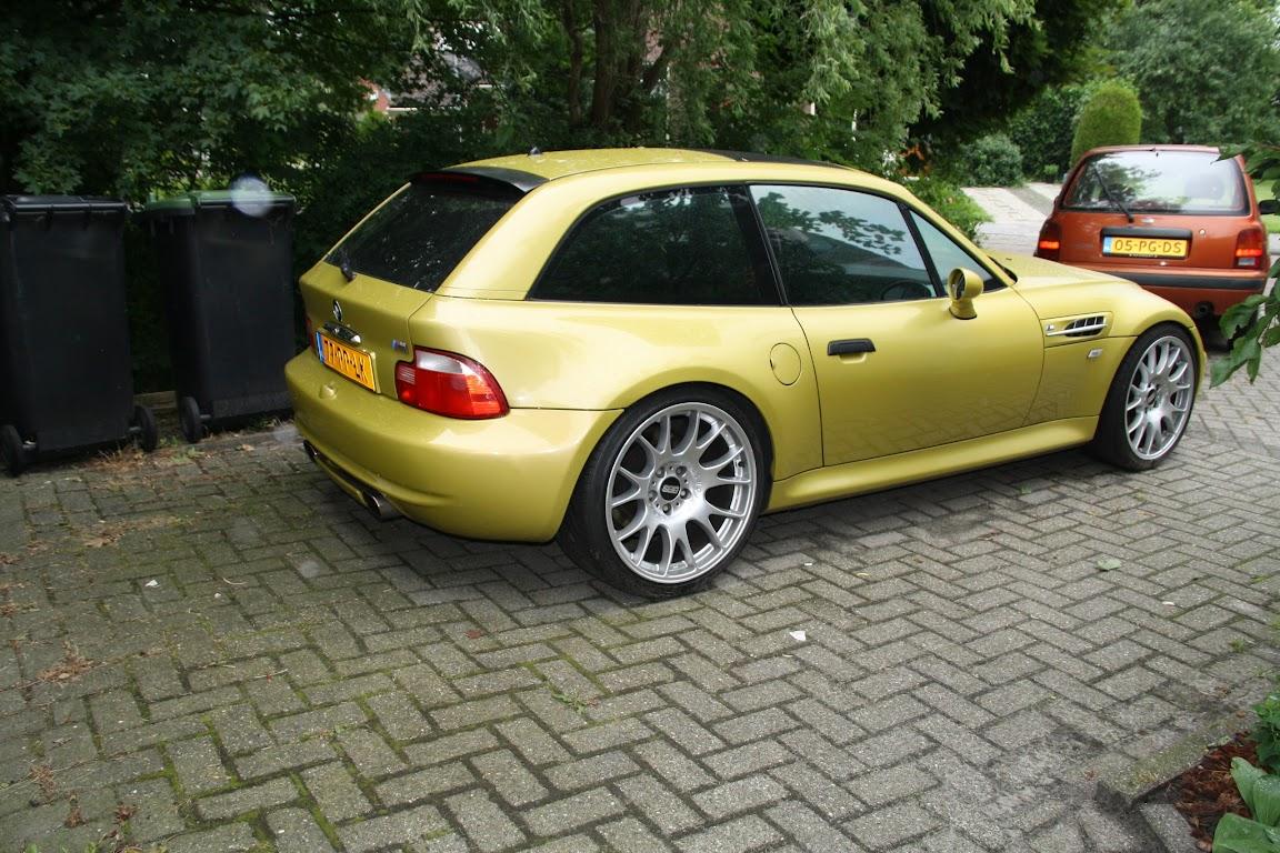2001 E36 8 Z3 M Coupe S54 Phoenix Gelb 027 Van 203