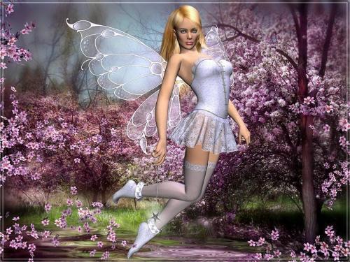 Purple Fairy, Fairies Girls
