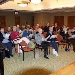 2008-12-01 Choir Rehearsal at Glebe