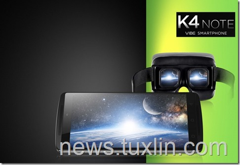 Lenovo K4 Note Diluncurkan, Smartphone 4G LTE Khusus Musik