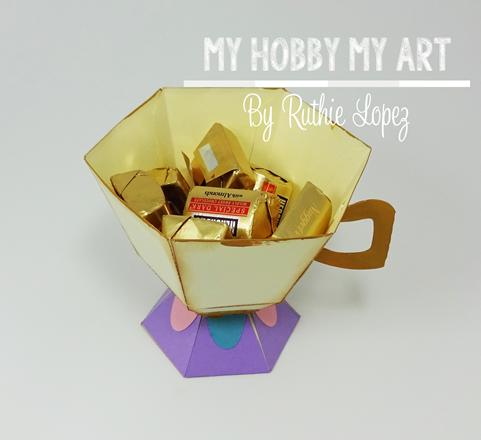 Tea cup, Chip, La Bella y La Bestia, Blog Hop, Ruthie Lopez 3