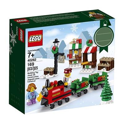lego christmas train