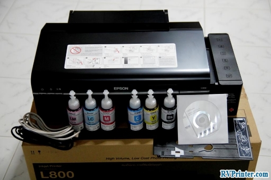 The Ink Tank System of Epson L800 Printer