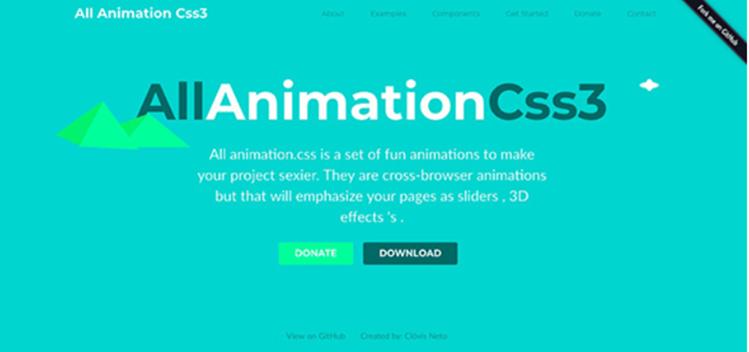 Librerías para hacer animaciones CSS