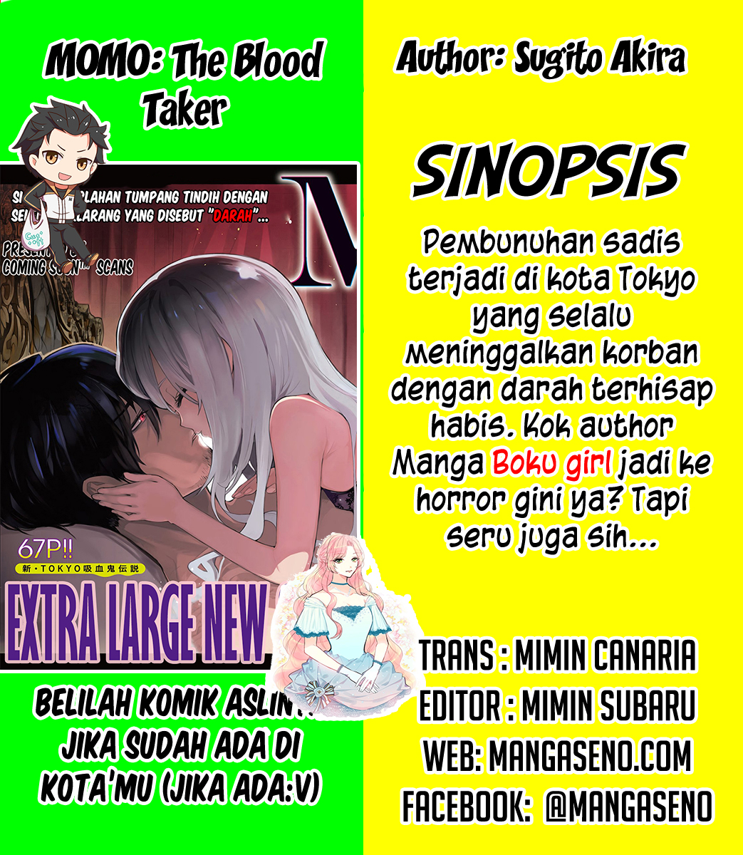 MOMO: The Blood Taker Chapter 01 Bahasa Indonesia