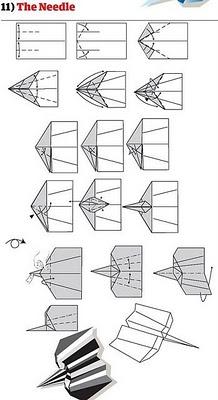 كيف تصنع طائرة ورقية-الفنون-منتهى