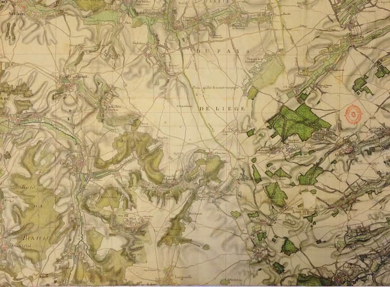 Kaart van Villaret