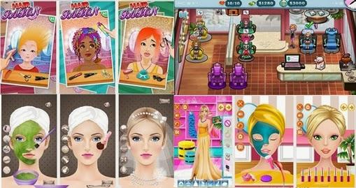 Permainan salon kecantikan di Android yang khusus bagi anda yang sedang mencar ilmu untuk men 4 Game Salon Kecantikan Untuk Android