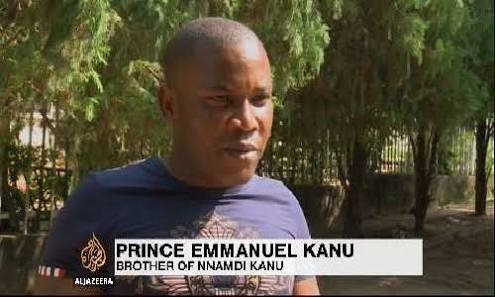 Nigerian Police should leave us alone - Nnamdi Kanu's brother Cries Out