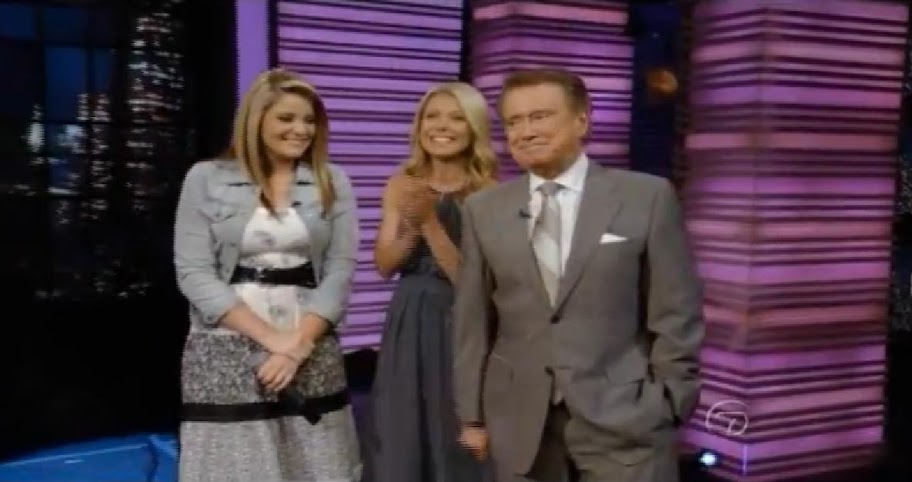 Lauren Alaina canta Like My Mother Does no Regis and Kelly