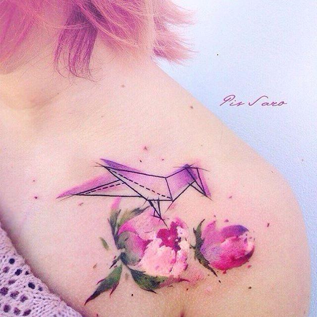 este_lindo_origami_de_aquarela_flor_da_tatuagem