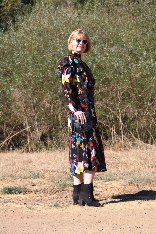 H M Floral Dress 3